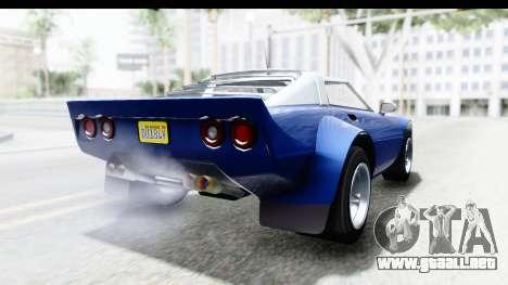 GTA 5 Lampadati Tropos Rallye No Headlights IVF para GTA San Andreas left