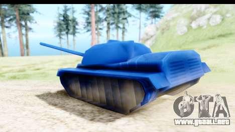 Tank M60 from Army Men: Serges Heroes 2 DC para GTA San Andreas vista posterior izquierda