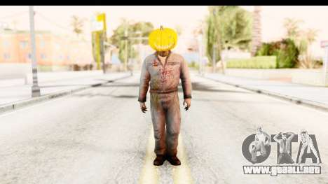 Left 4 Dead 2 - Zombie Pumpkin para GTA San Andreas segunda pantalla