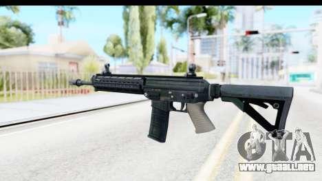 SG556 para GTA San Andreas segunda pantalla