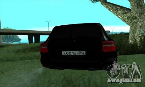 Porsche Cayenne para GTA San Andreas left