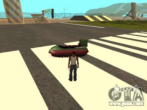 Cars spawn para GTA San Andreas quinta pantalla