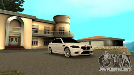 BMW M5 F10 para GTA San Andreas left
