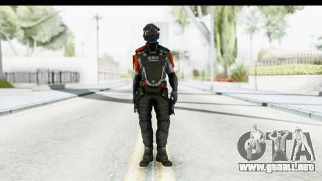 Homefront The Revolution - KPA v5 Captain para GTA San Andreas segunda pantalla