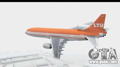 Lockheed L-1011-100 TriStar LTU para GTA San Andreas left
