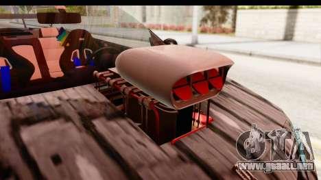 Renault Megane Spyder Full Tuning v2 para visión interna GTA San Andreas