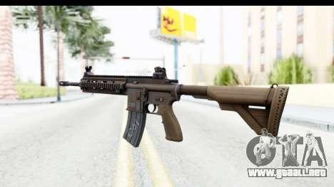 Heckler & Koch HK416 para GTA San Andreas segunda pantalla