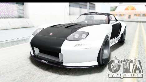 GTA 5 Bravado Banshee 900R Carbon Mip Map para la vista superior GTA San Andreas