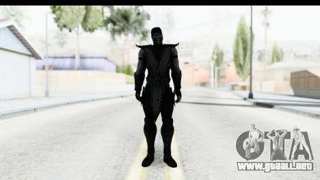 Mortal Kombat vs DC Universe - Noob Saibot para GTA San Andreas segunda pantalla