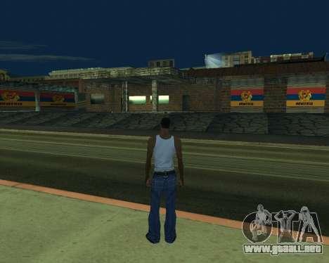 Garaje nuevo Armenia para GTA San Andreas segunda pantalla