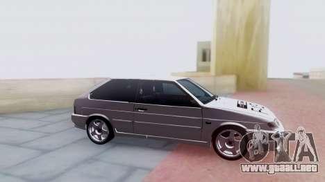 VAZ 2113 LoudSound para GTA San Andreas vista hacia atrás