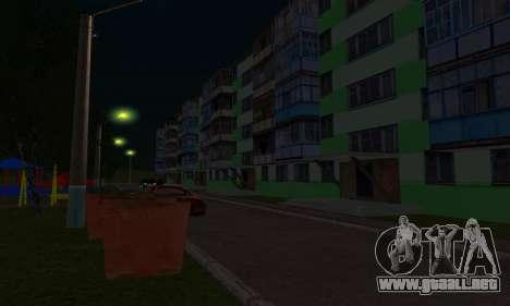El nuevo distrito cerca de Arzamas para GTA San Andreas décimo de pantalla