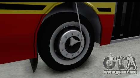 Metalpar Tronador 2 Puertas Linea 324 para GTA San Andreas vista hacia atrás