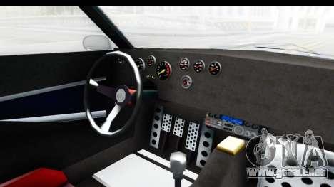 GTA 5 Lampadati Tropos Rallye No Headlights IVF para visión interna GTA San Andreas