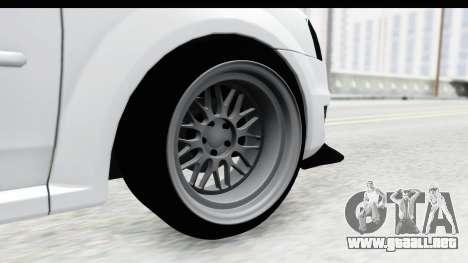 Dacia Logan Coil para GTA San Andreas vista hacia atrás