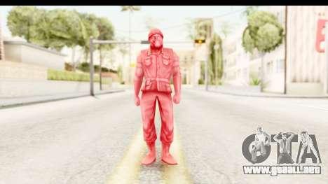 ArmyMen: Serge Heroes 2 - Man v3 para GTA San Andreas segunda pantalla