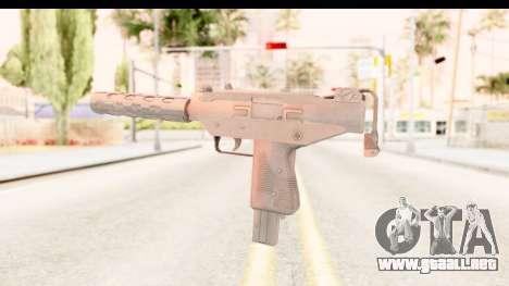 RE2 - Machine Gun para GTA San Andreas tercera pantalla