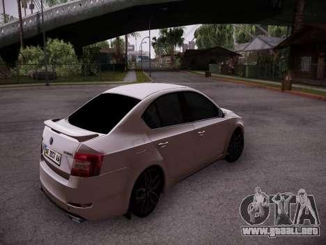 Skoda Octavia A7 R para la visión correcta GTA San Andreas
