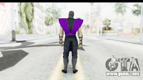 Rain MK2 para GTA San Andreas tercera pantalla