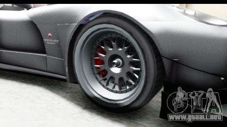 GTA 5 Bravado Banshee 900R Carbon Mip Map IVF para GTA San Andreas vista hacia atrás