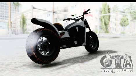 GTA 5 Western Gargoyle Stock para la visión correcta GTA San Andreas