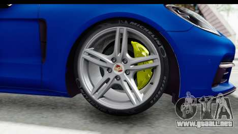 Porsche Panamera 4S 2017 v1 para GTA San Andreas vista posterior izquierda