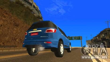 Chevrolet TrailBlazer 2015 LTZ para la visión correcta GTA San Andreas
