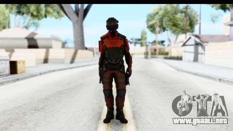 Homefront The Revolution - KPA v3 Red para GTA San Andreas segunda pantalla