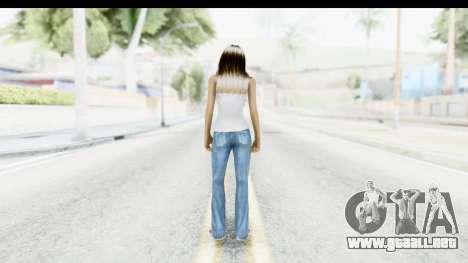Silverblk White Top para GTA San Andreas tercera pantalla