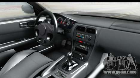 Nissan Silvia S14 Low and Slow para visión interna GTA San Andreas