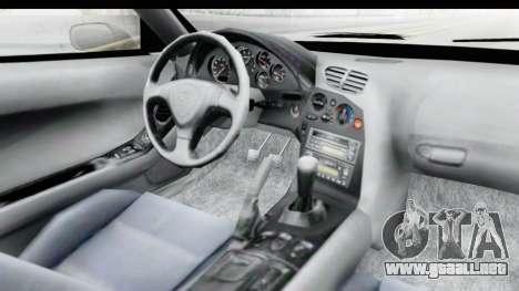 Mazda RX-7 4-doors Fastback para visión interna GTA San Andreas