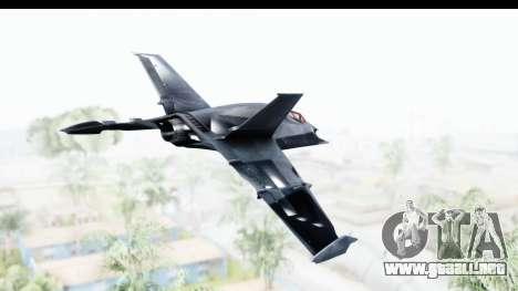 Batman Arkham Origins - Batwing para la visión correcta GTA San Andreas