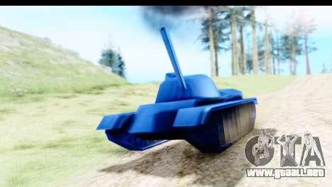 Tank M60 from Army Men: Serges Heroes 2 DC para la visión correcta GTA San Andreas