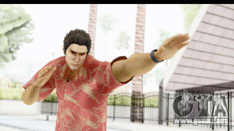 Yakuza 5 Kazuma Kiryu Okinawa para GTA San Andreas