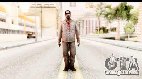 Left 4 Dead 2 - Zombie Shirt 1 para GTA San Andreas segunda pantalla