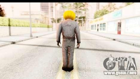 Left 4 Dead 2 - Zombie Pumpkin para GTA San Andreas tercera pantalla