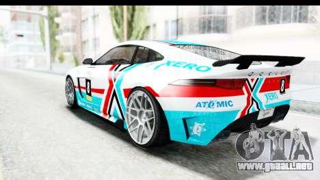 GTA 5 Ocelot Lynx IVF PJ para las ruedas de GTA San Andreas
