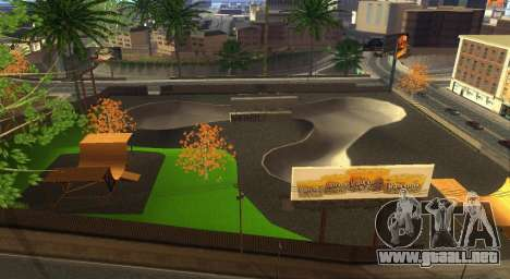 Nuevas texturas de un skate Park y hospital para GTA San Andreas