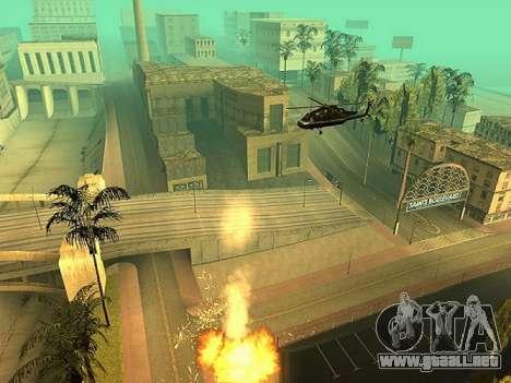La adición de armas a la técnica de aire para GTA San Andreas