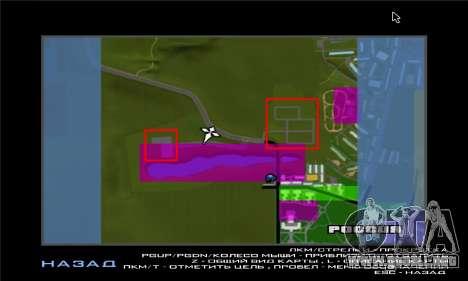 El nuevo distrito cerca de Arzamas para GTA San Andreas