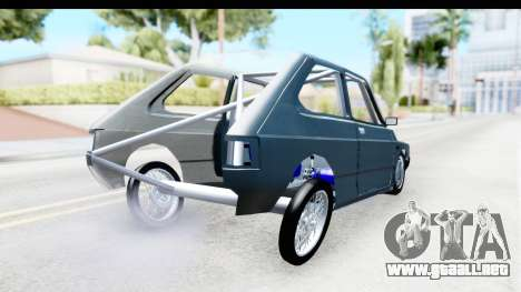 Fiat 147 para GTA San Andreas vista posterior izquierda