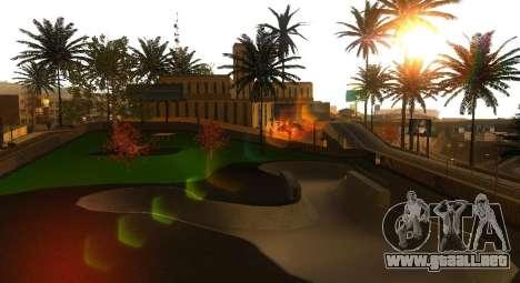 Nuevas texturas de un skate Park y hospital para GTA San Andreas quinta pantalla