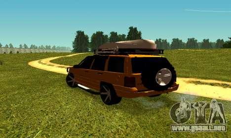 Jeep Grand Cherokee para la visión correcta GTA San Andreas