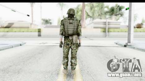 Global Warfare Balkan para GTA San Andreas tercera pantalla