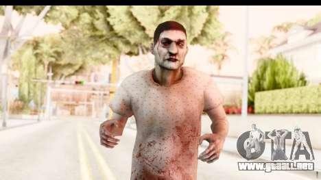 Left 4 Dead 2 - Zombie Patient para GTA San Andreas