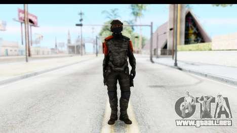 Homefront The Revolution - KPA v4 Camo para GTA San Andreas segunda pantalla