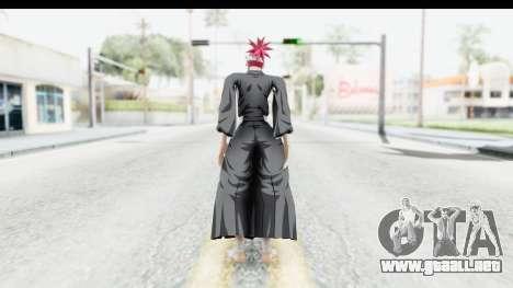 Bleach - Renji para GTA San Andreas tercera pantalla