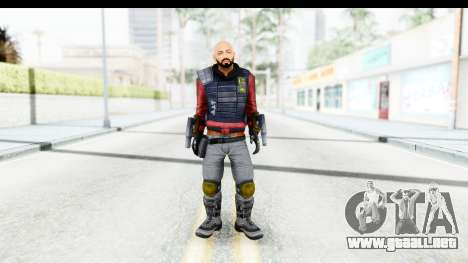 Deadshot (Will Smith) para GTA San Andreas segunda pantalla