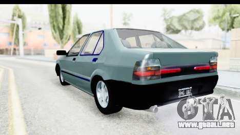 Renault 19 RE para GTA San Andreas left