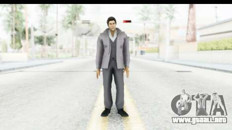Yakuza 5 Kazuma Kiryu Fukuoka para GTA San Andreas segunda pantalla